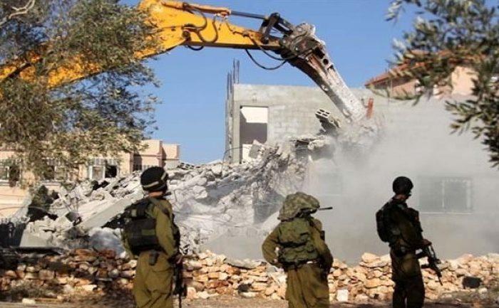Zionis Kembali Hancurkan Rumah Warga Palestina