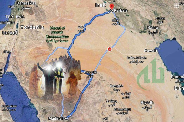 Kisah Perjalanan Imam Husain as dari Madinah ke Padang Karbala