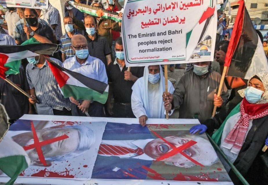 Unjuk Rasa di Masjid al-Aqsa, Warga Palestina Tolak Normalisasi Monarki Arab-Zionis