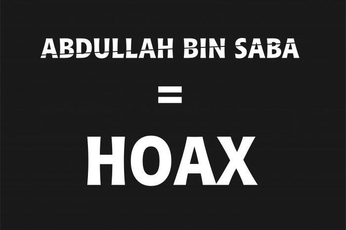 Abdullah bin Saba, Tokoh Hoax Rekaan Pendusta