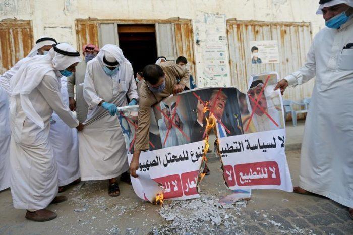Rakyat Bahrain Kompak, Kutuk Kesepakatan 'Tercela' Bahrain-Zionis