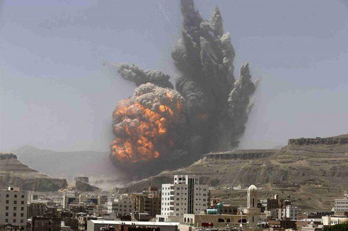 Rezim Saudi Cs Bombardir Yaman dengan Ribuan Bom Kluster