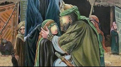 Putri Bungsu Imam Husain Syahid dalam Duka