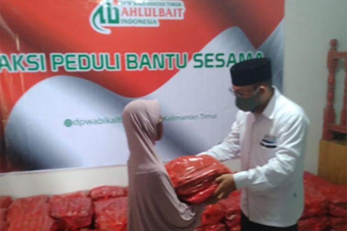 Peduli Dampak Covid-19, DPW ABI Kaltim Distribusikan Sembako