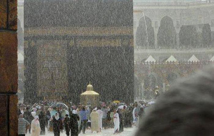 Minta Hujan Turun, Wasilah Nabi Muhammad