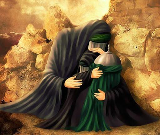 Karamah Sayyidah Ruqayyah, Menyembuhkan Anak Lumpuh