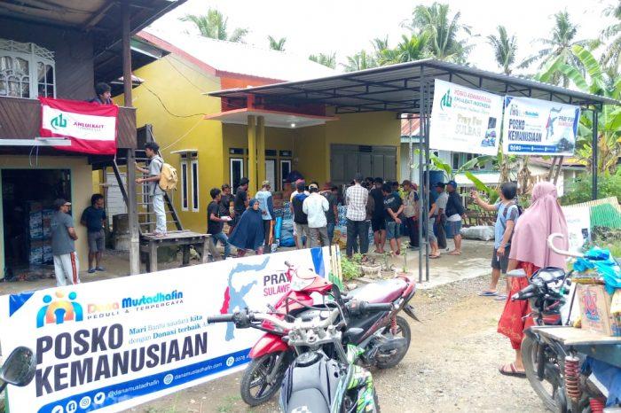 DPW ABI Sulbar Gerak Cepat Bantu Korban Gempa Bumi