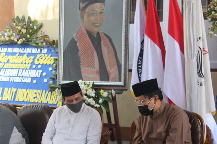 Delegasi ABI Ziarahi Makam Kang Jalal