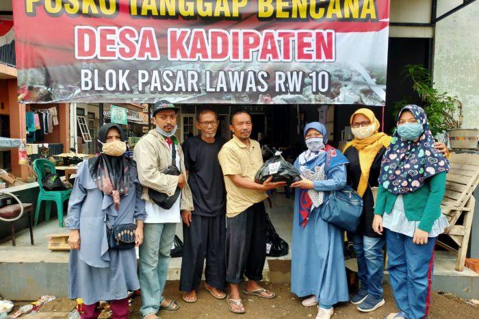 Muslimah Ahlulbait Indonesia Majalengka Salurkan Bantuan Korban Banjir