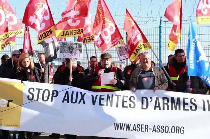Pembela HAM Demo Penjualan Sejata Prancis ke Rezim Saudi