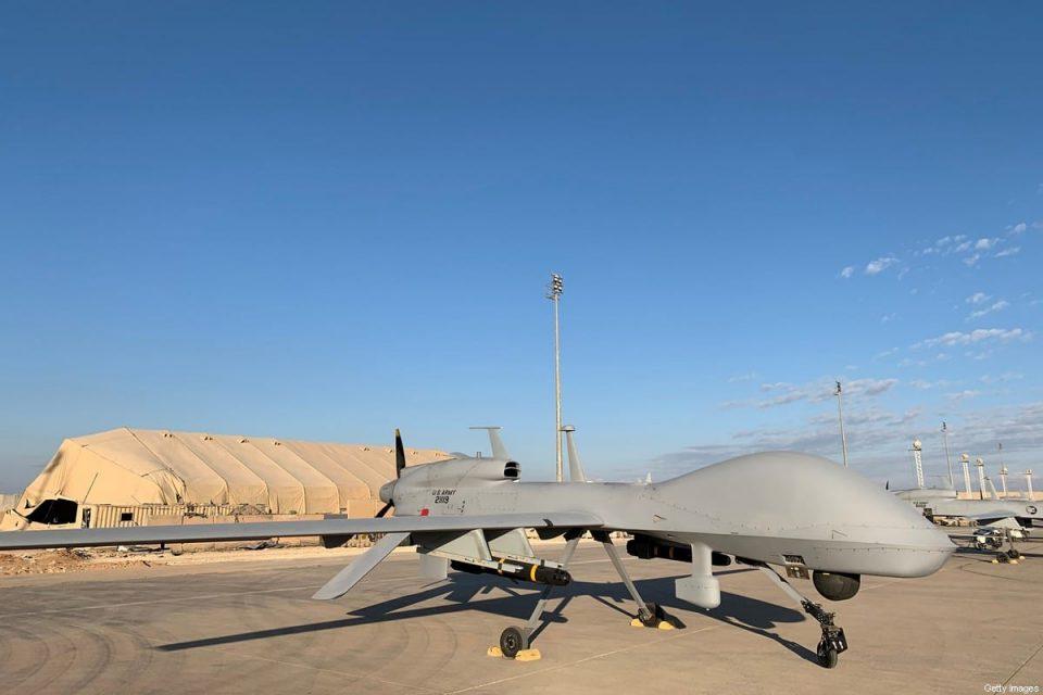 Pangkalan AS di Irak Digempur Tiga Drone