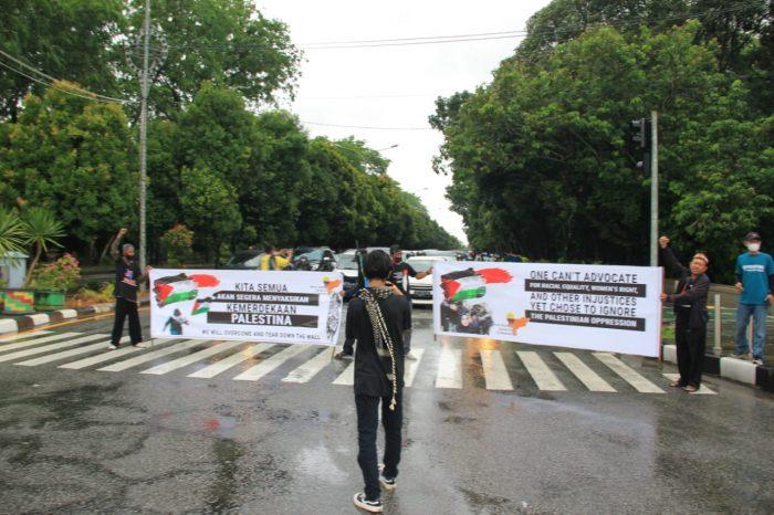 Ahlulbait Indonesia Kalbar Gelar Aksi Solidaritas Kemerdekaan Bangsa Palestina