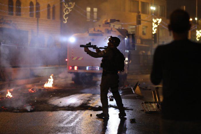 Pemukim Ilegal Zionis Serang Warga Palestina di Shiekh Jarrah
