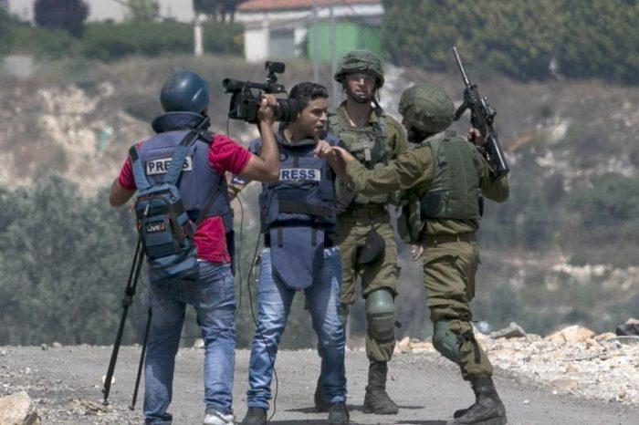 Rezim Zionis Culik 13 Jurnalis Palestina