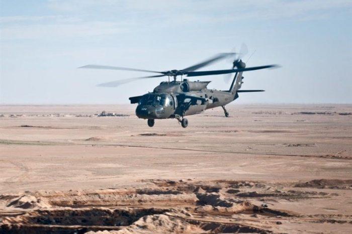 Helikopter AS Terekam Angkut Teroris ISIS