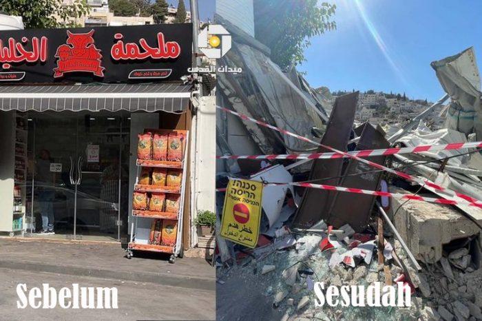 Lagi-lagi Zionis Bongkar Rumah Warga Palestina