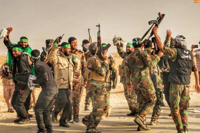 Hashd Shaabi Irak Hancurkan Persembunyian Teroris ISIS